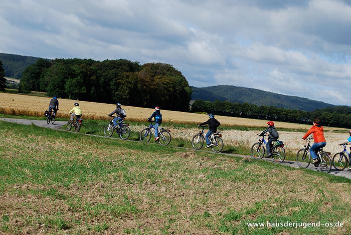 Fahrradfreizeit Barkhausen 2011