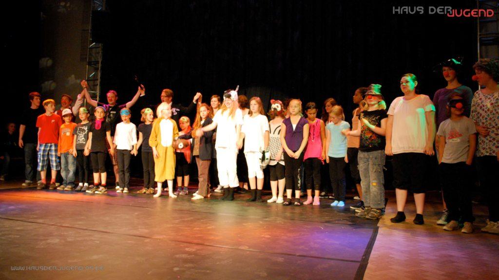 Zirkusprojekt Ferienpass 2011